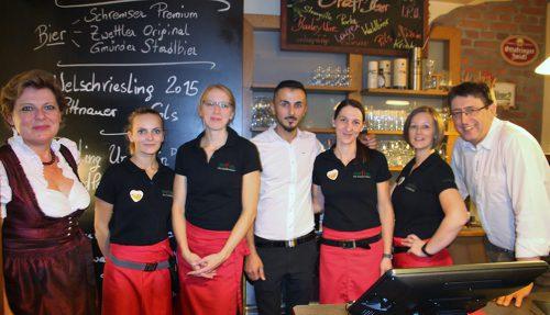 Stadtwirtshaus Hopferl-Gmuend Team