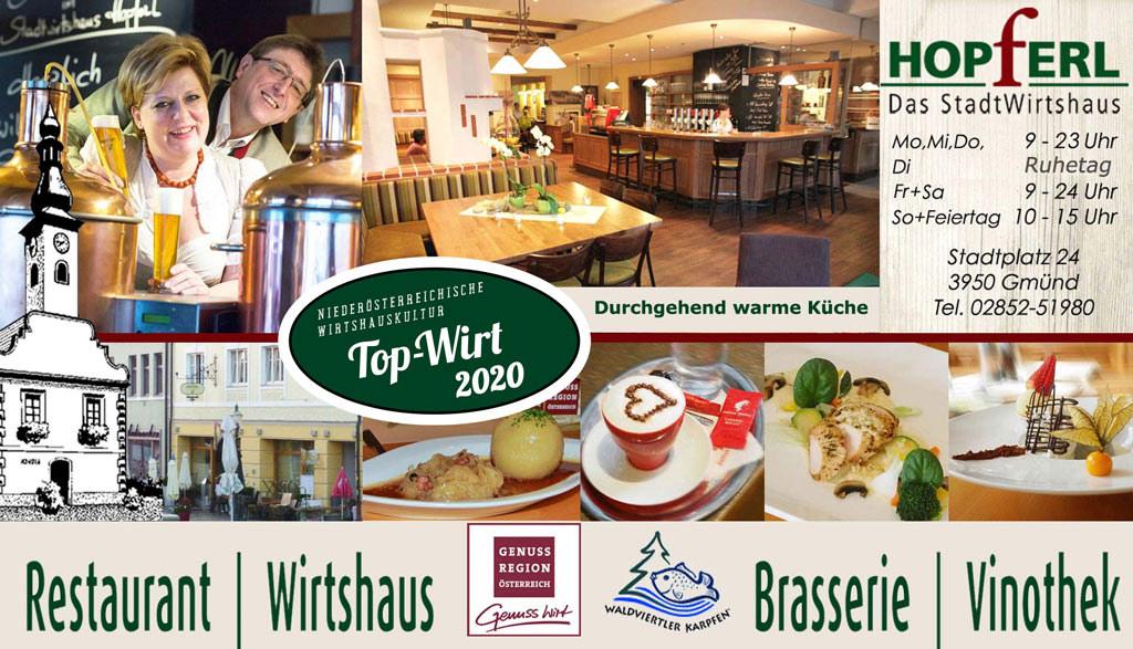 Stadtwirtshaus Hopferl-Gmuend Topwirt-2020