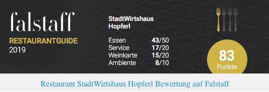 Stadtwirtshaus Hopferl-Gmuend - Falstfaff